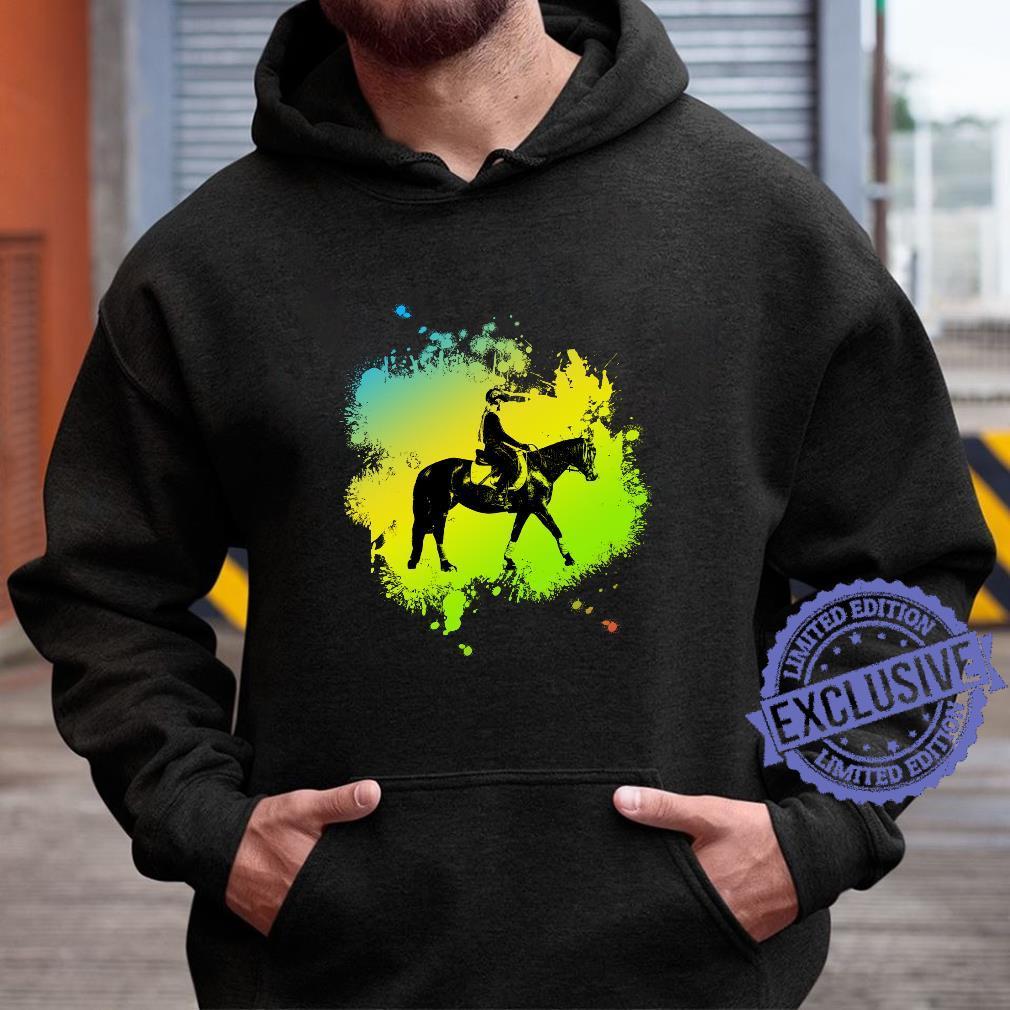 Cute Girl on Horse like riding Shirt hoodie
