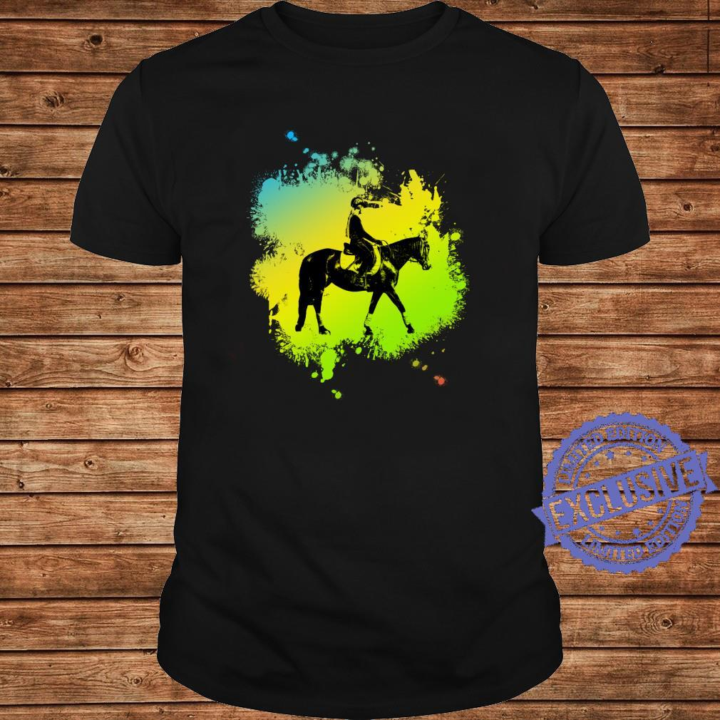 Cute Girl on Horse like riding Shirt long sleeved