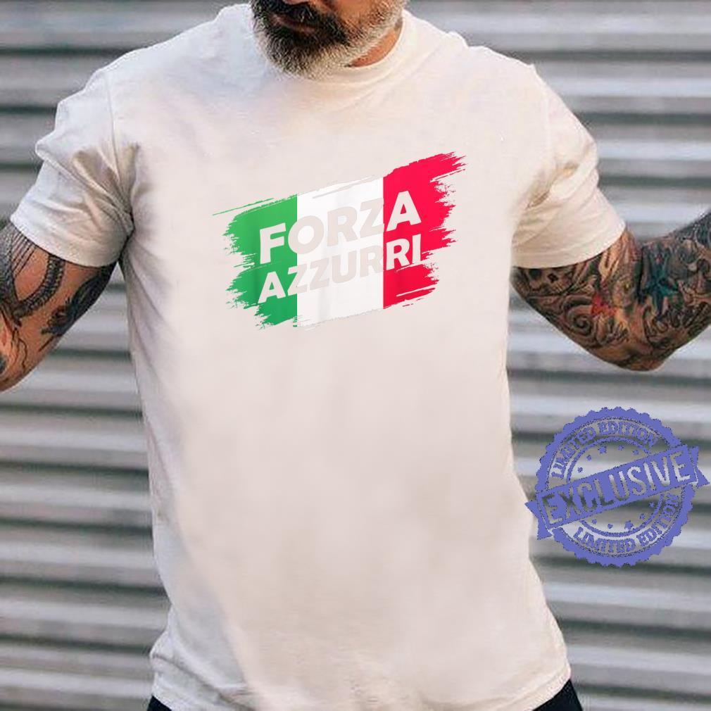 Forza Azzurri Jersey Football Team Italia Forza Azzurri Shirt long sleeved