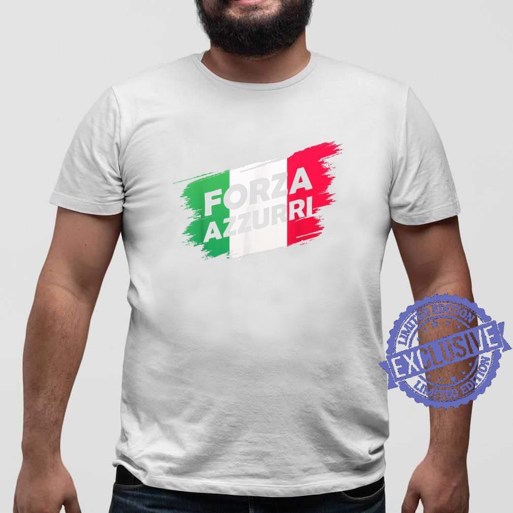 Forza Azzurri Jersey Football Team Italia Forza Azzurri Shirt sweater