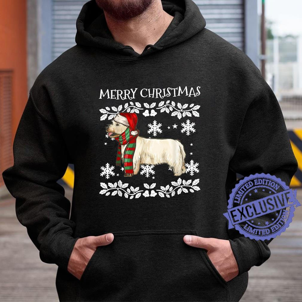 Merry Christmas Ornament West Highland White Terrier Xmas Shirt hoodie