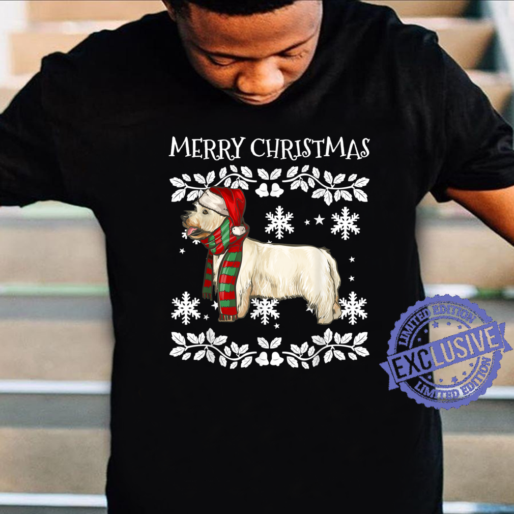 Merry Christmas Ornament West Highland White Terrier Xmas Shirt