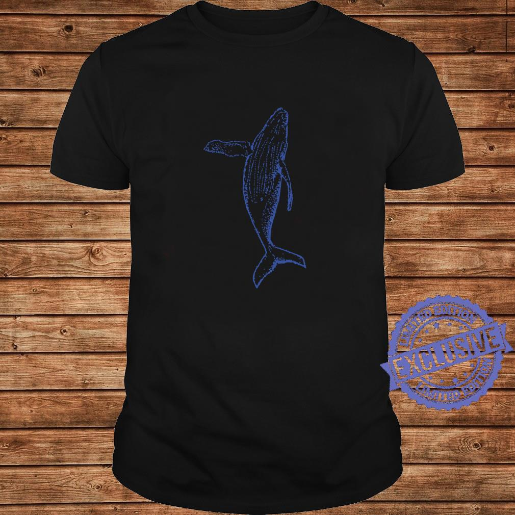 Playful And The Whale Shirt long sleeved