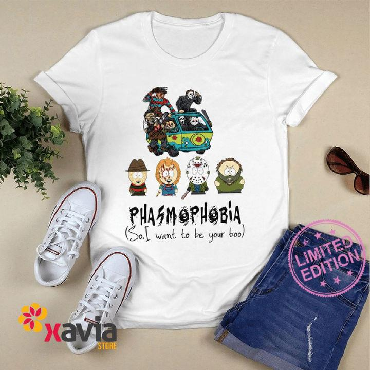 South Park Phasmophobia so i want to be your boo shirt