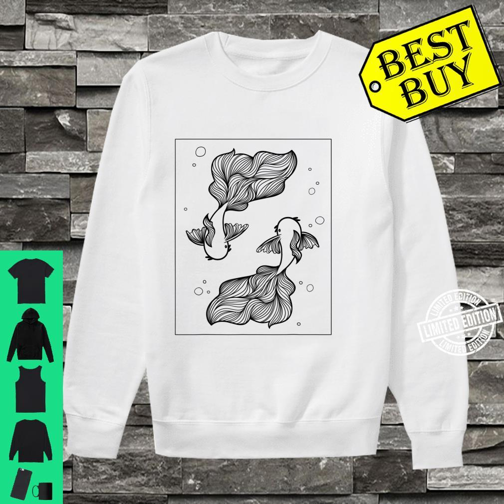Aesthetic Koi Fish Animal Goldfish Japanese Shirt sweater