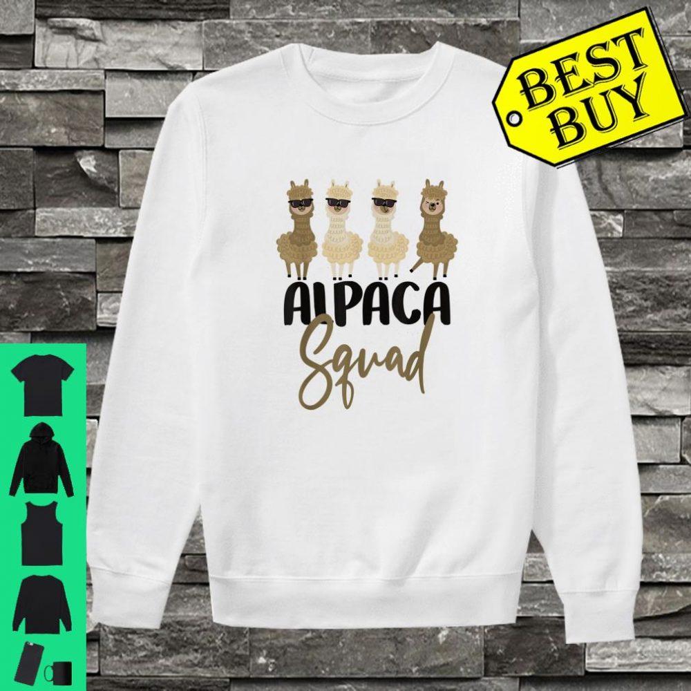 Alpaca Cousin Sibling Student School Gift Llama Squad shirt sweater