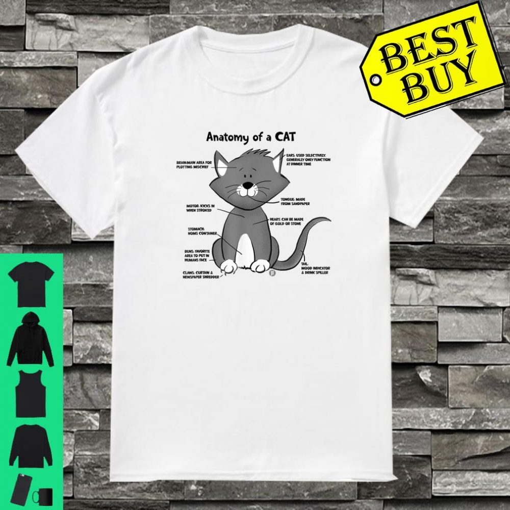 Anatomy of a Cat shirt