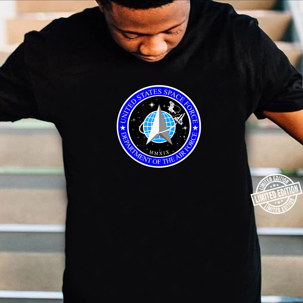 Best USA Space Force Patch Branch Of The Air Force Logo Shirt