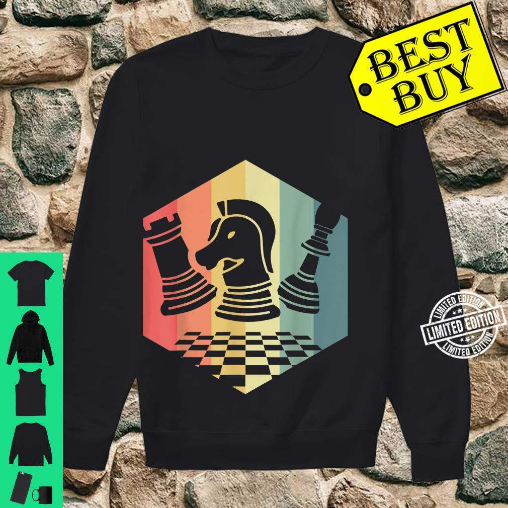 Chess Player Idea Vintage Chess Pieces Pawn Knight Rook Shirt sweater