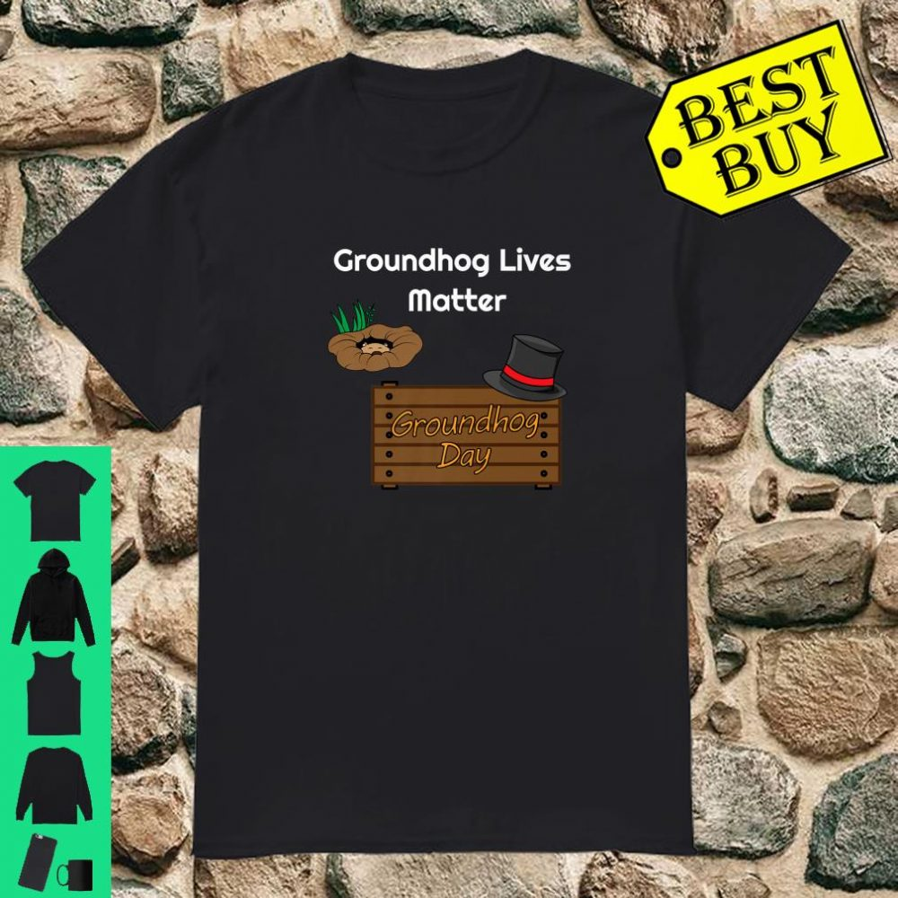 Funny Groundhog Day Woodchuck Stuffed Animal Shirt