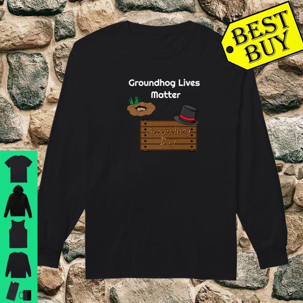 Funny Groundhog Day Woodchuck Stuffed Animal Shirt long sleeved