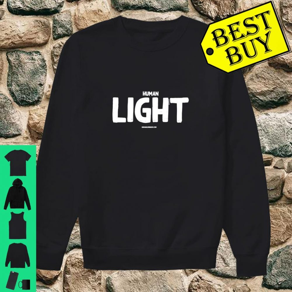 Human Light Graphic shirt sweater
