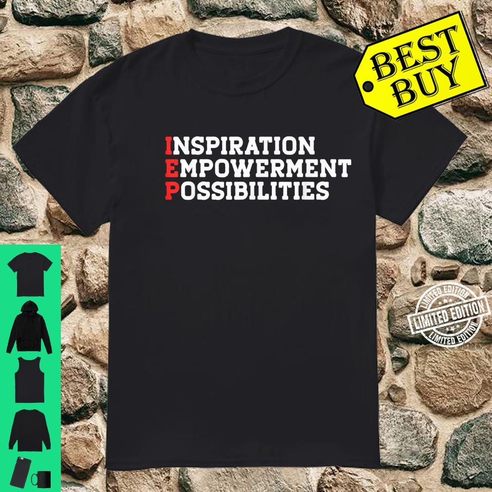 IED SPED Special Education Ed Teacher for Mom Dad Shirt