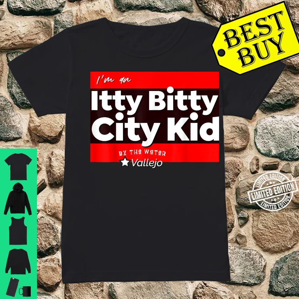 Itty Bitty City Kid By The Water Vallejo Shirt ladies tee