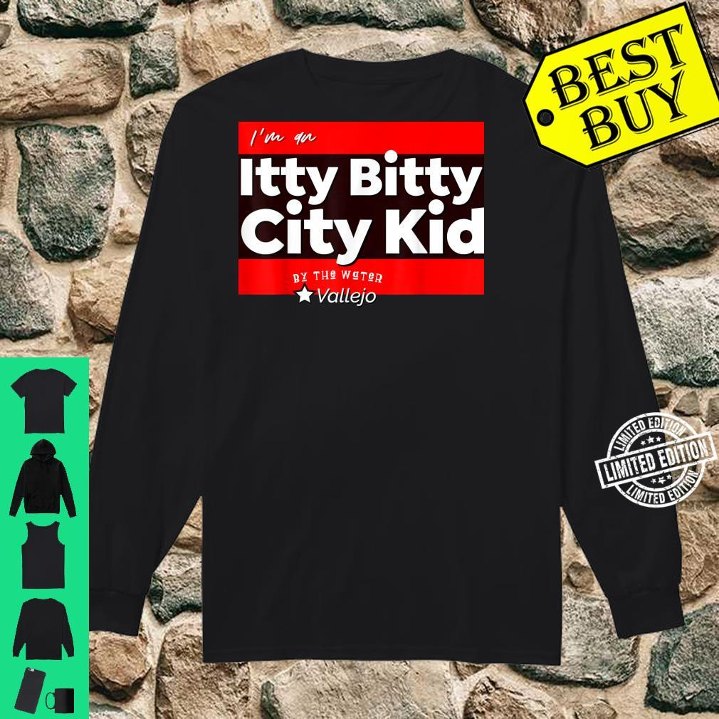 Itty Bitty City Kid By The Water Vallejo Shirt long sleeved