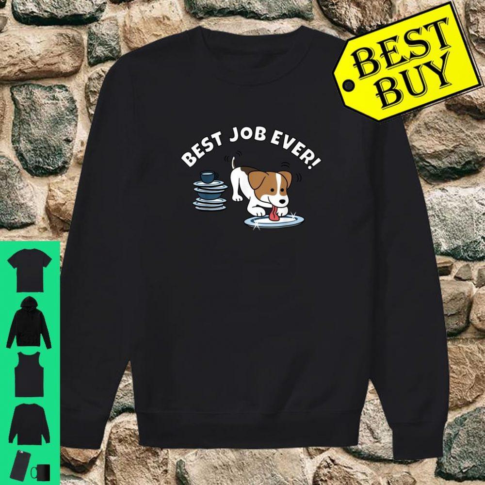 Jack Russell Terrier Best Job Ever Dog Shirt sweater