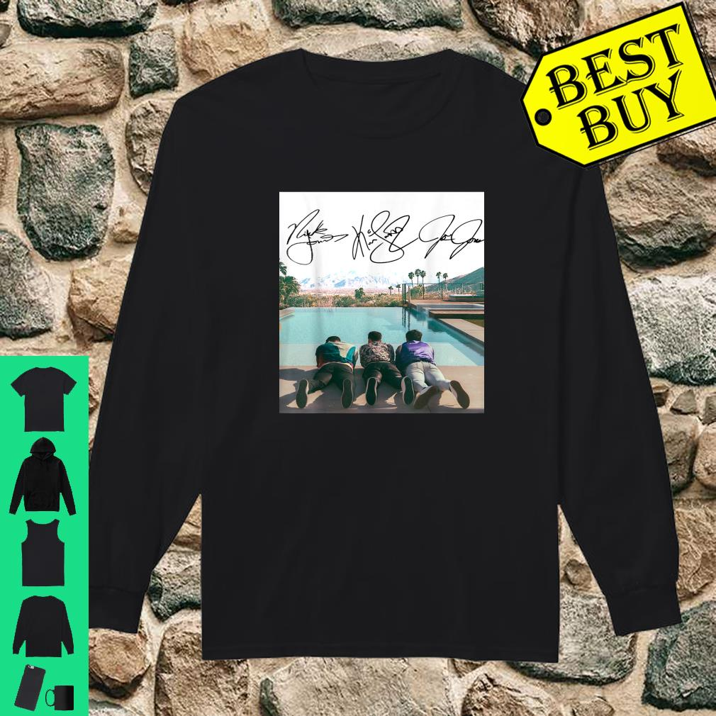 Jonas Brothers Happiness Lovers For Men And Women shirt long sleeved