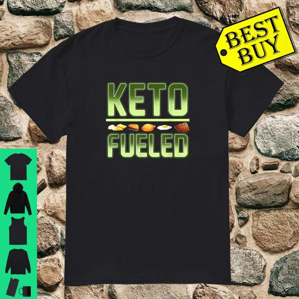 Keto Weight Loss Keto Fueled Workout Gear Ketones shirt