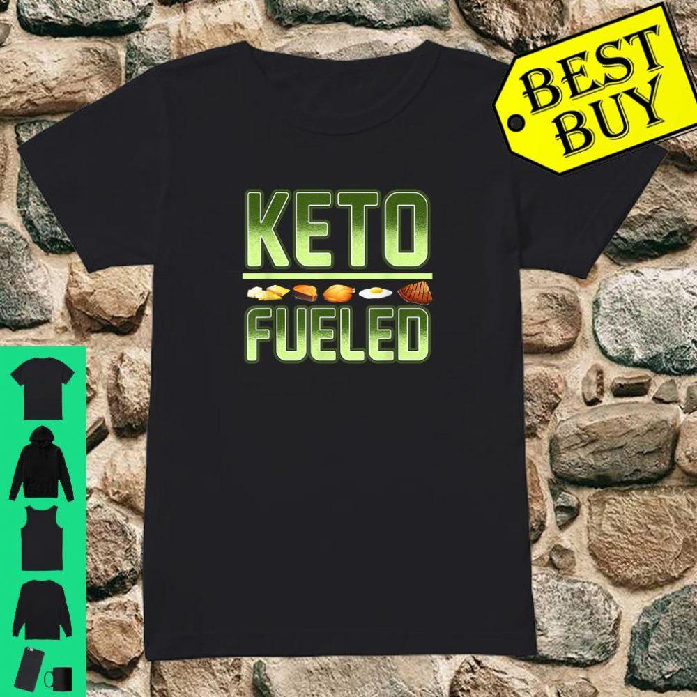 Keto Weight Loss Keto Fueled Workout Gear Ketones shirt ladies tee