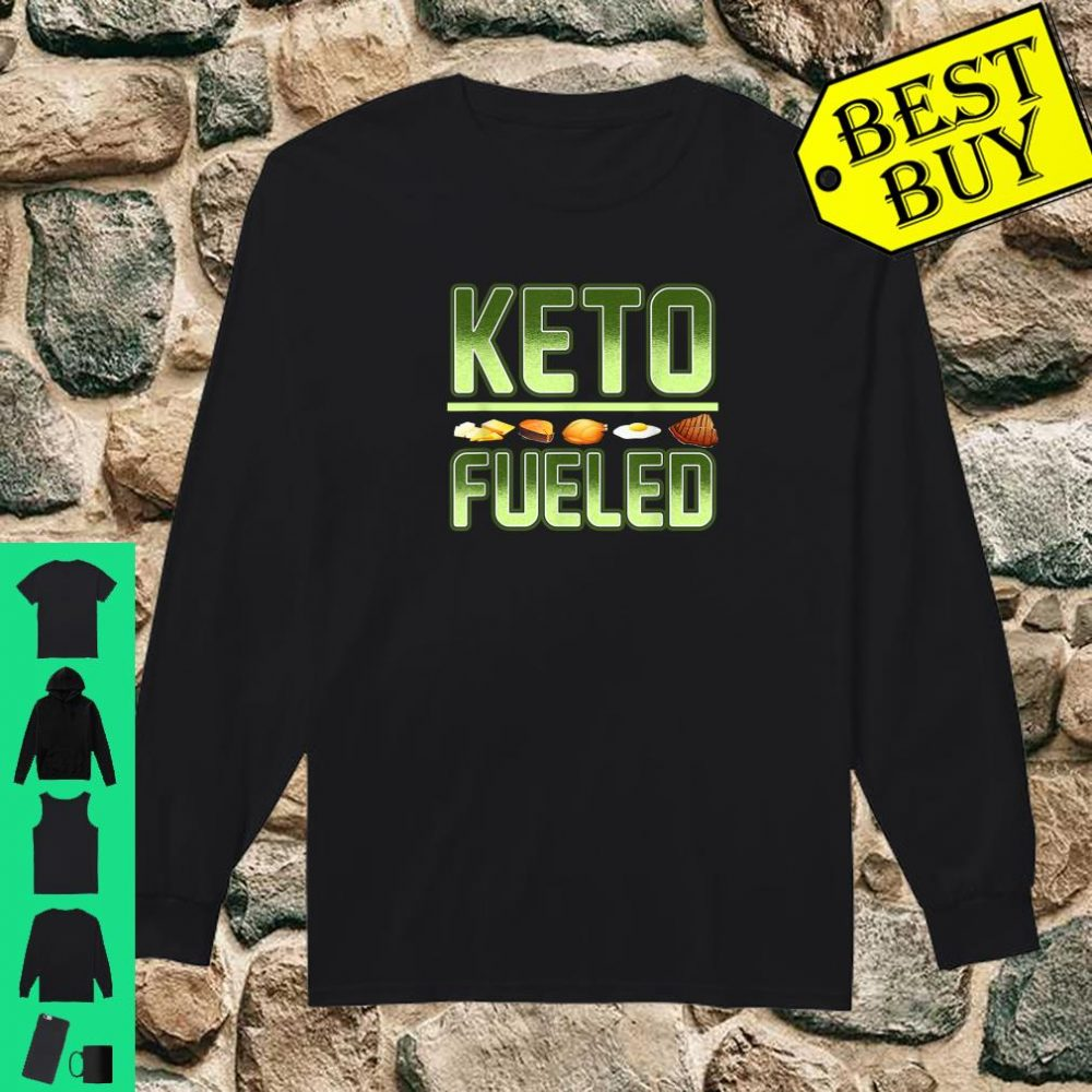 Keto Weight Loss Keto Fueled Workout Gear Ketones shirt long sleeved