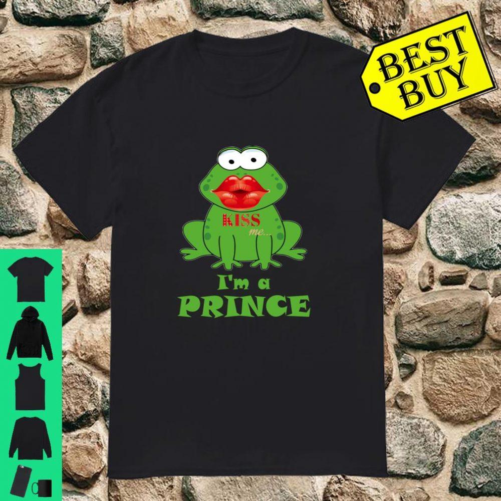 Kiss Me, I'm A Prince Flirt Shirt