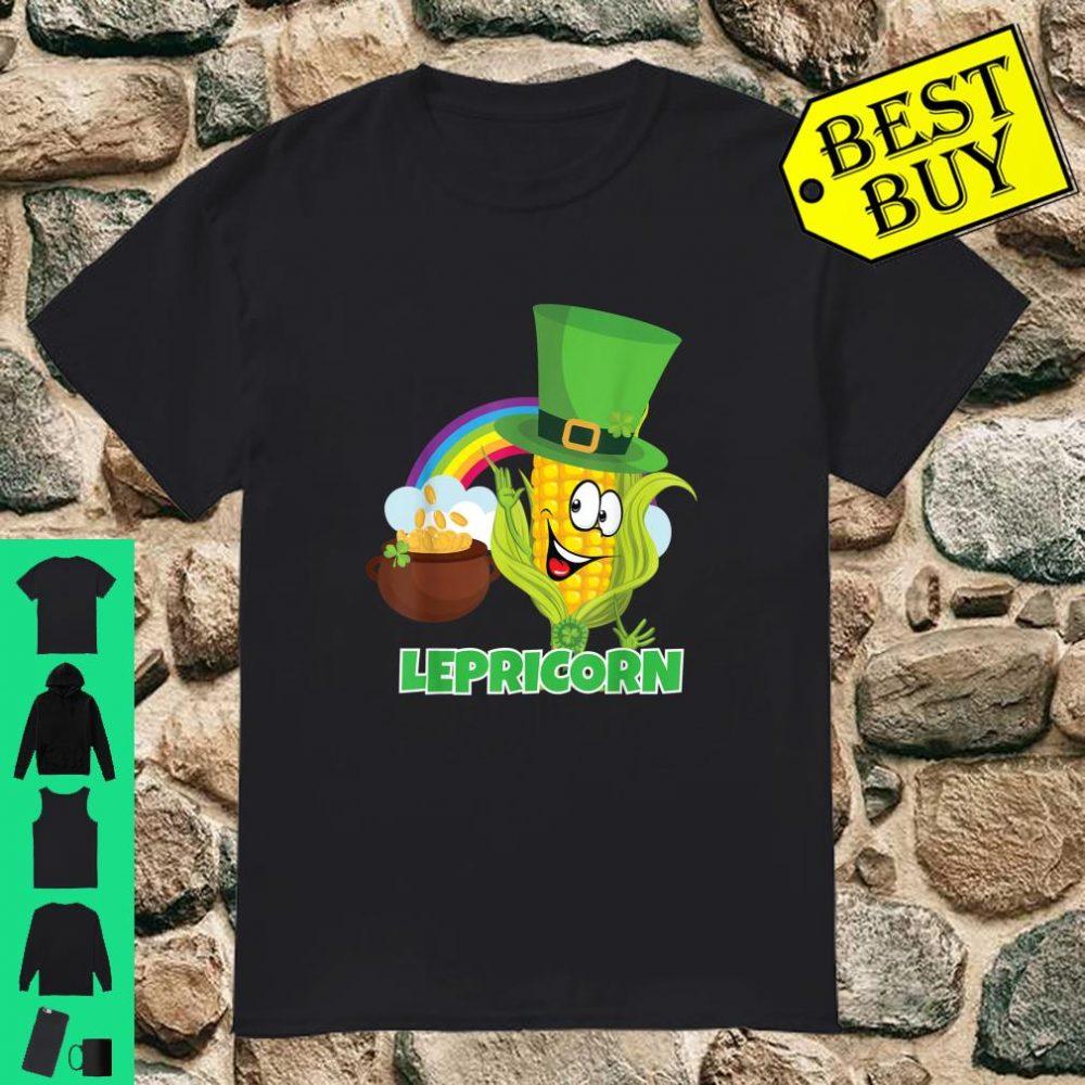 'Lepricorn' Shirt St Paddys Day Pun Shirt Leprechaun Shirt