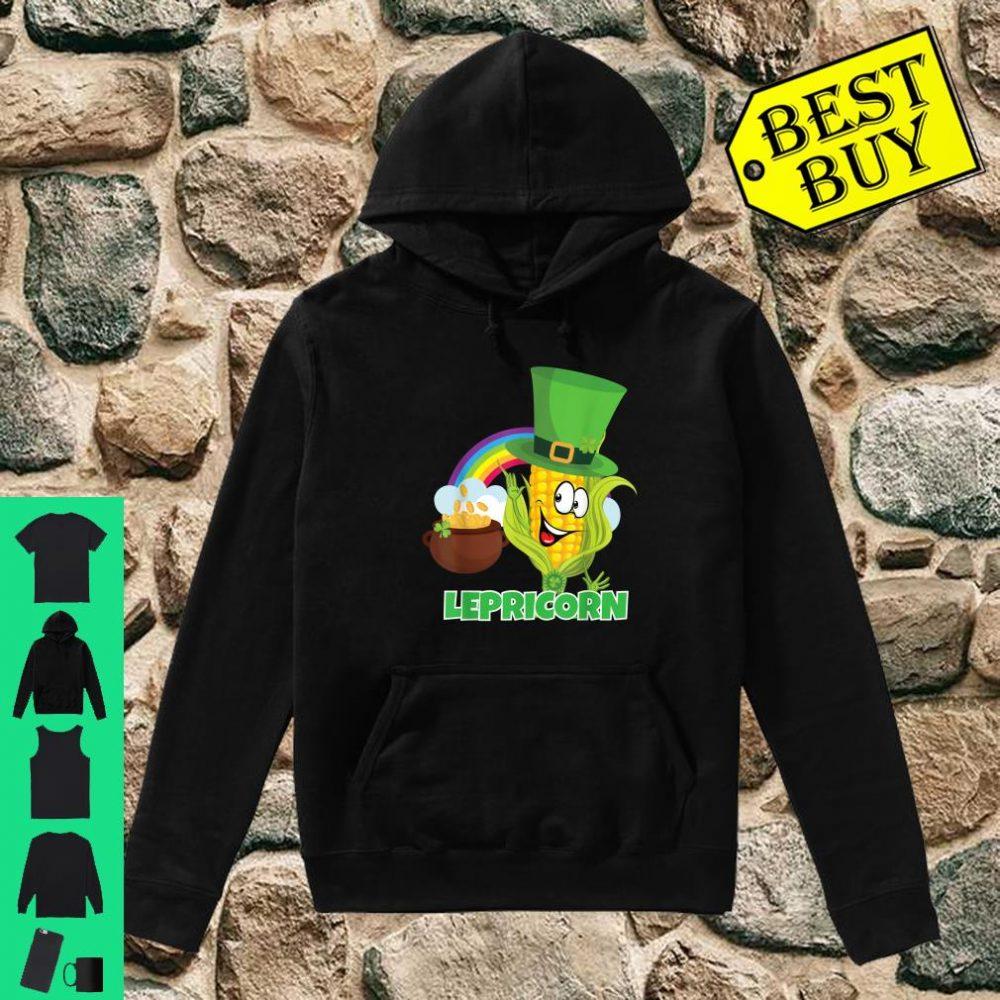 'Lepricorn' Shirt St Paddys Day Pun Shirt Leprechaun Shirt hoodie
