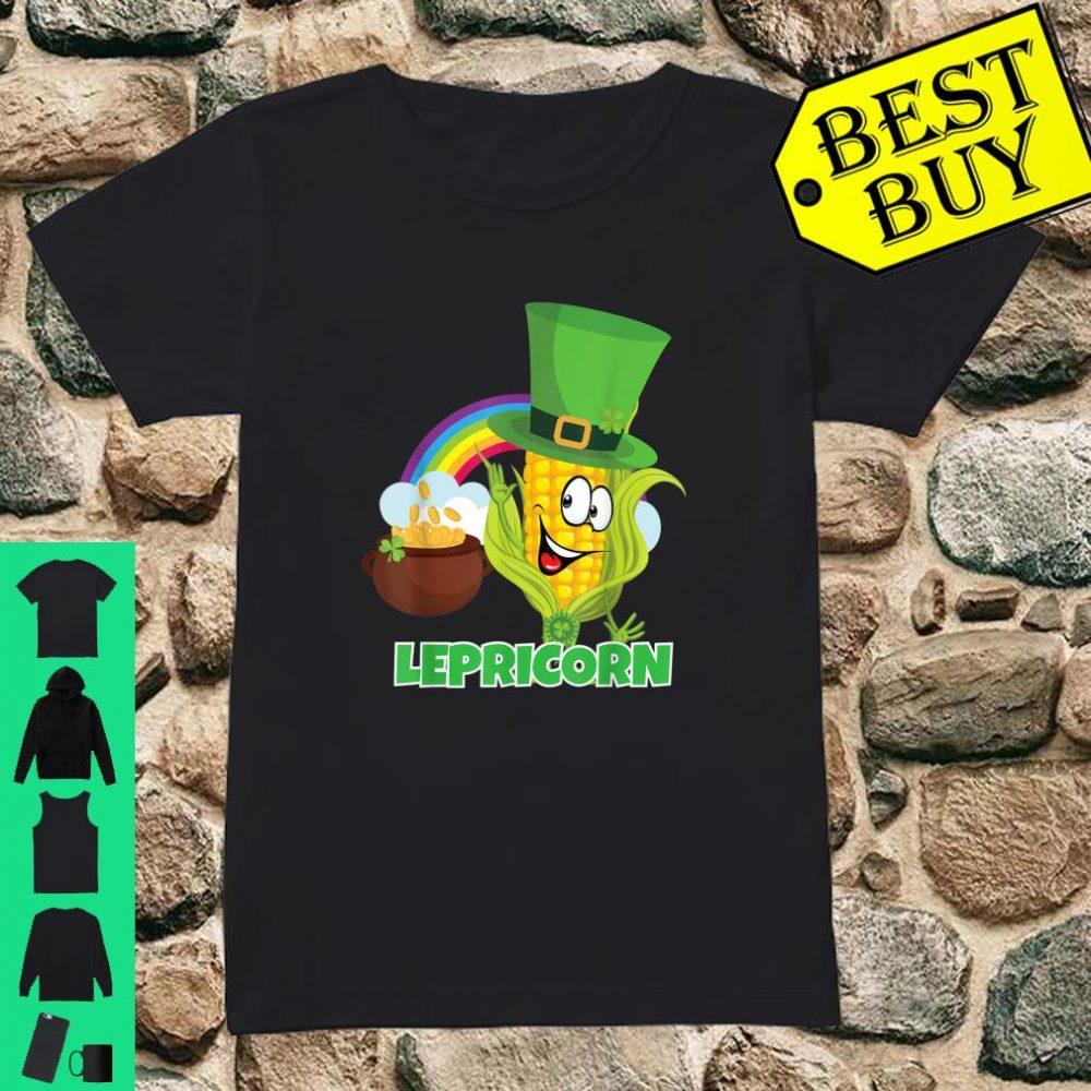 'Lepricorn' Shirt St Paddys Day Pun Shirt Leprechaun Shirt ladies tee