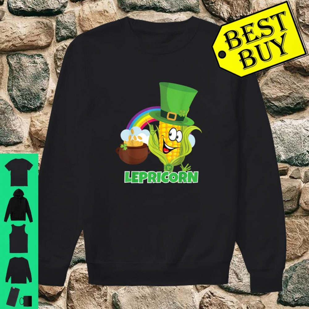 'Lepricorn' Shirt St Paddys Day Pun Shirt Leprechaun Shirt sweater