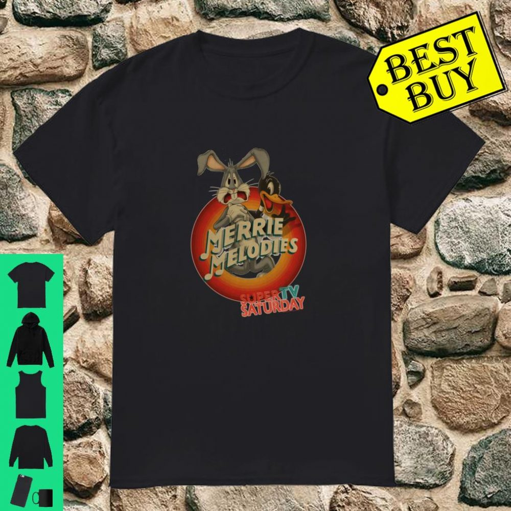 Looney Tunes Merry Melodies Bugs and Daffy Langarmshirt Shirt