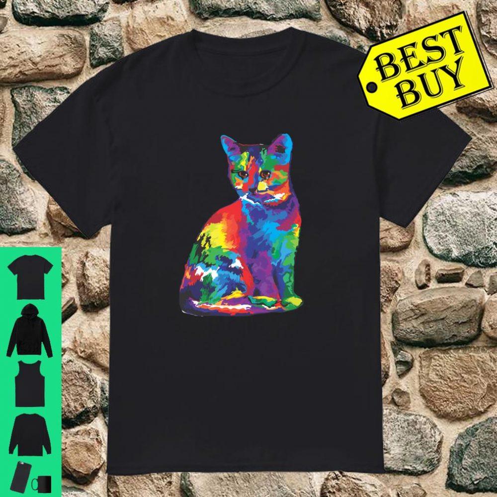 Magic Multicolor Cat shirt