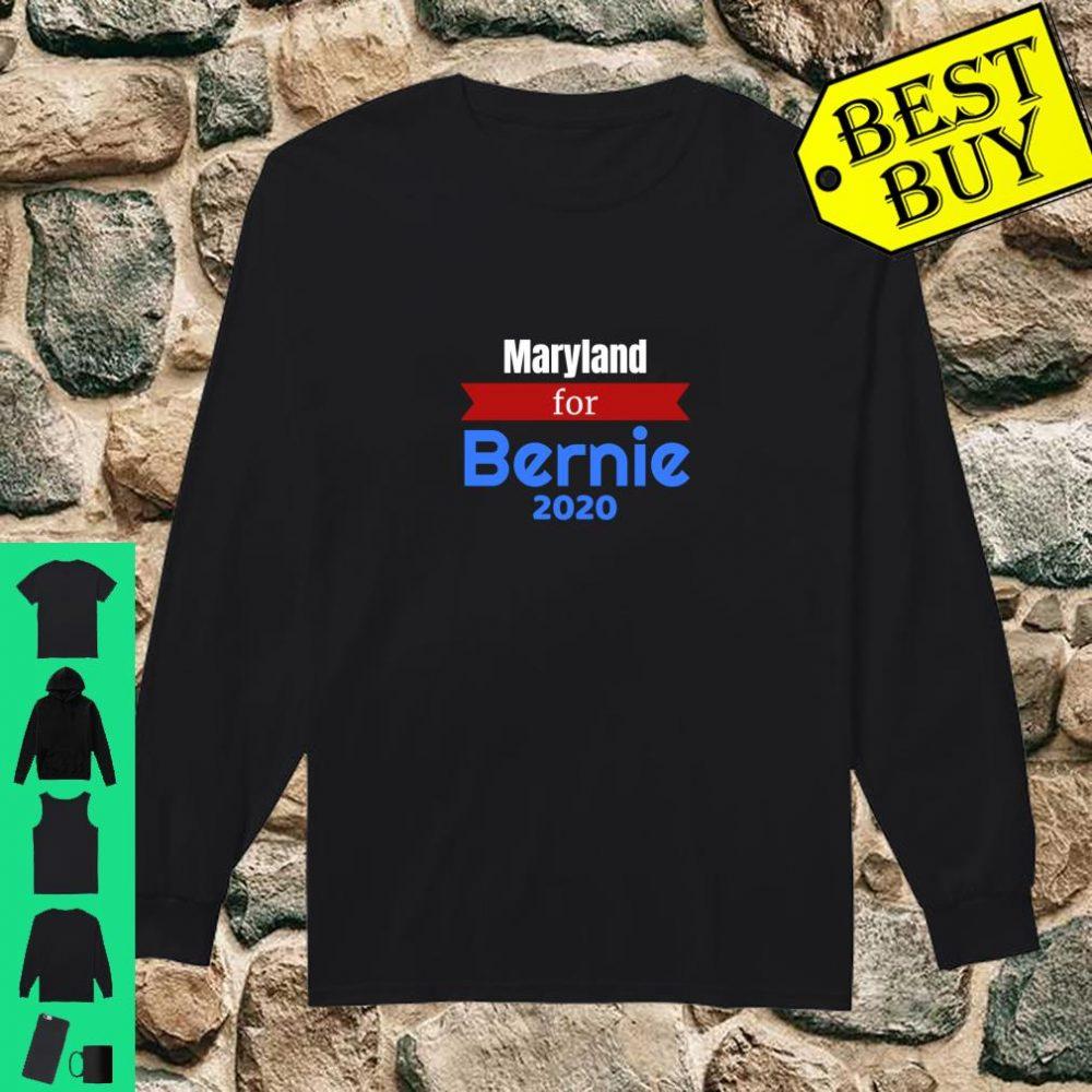Maryland for Bernie 2020 - Bernie Sanders for President shirt long sleeved