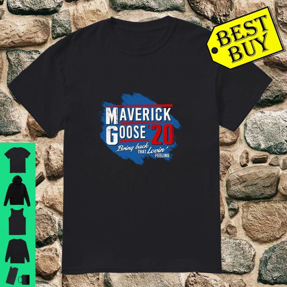 Maverick and Goose 2020 Presidential Election Copilot shirt