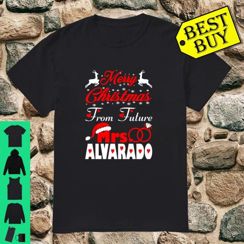 Merry Christmas From Future Mrs Alvarado Gift Ugly Sweater shirt
