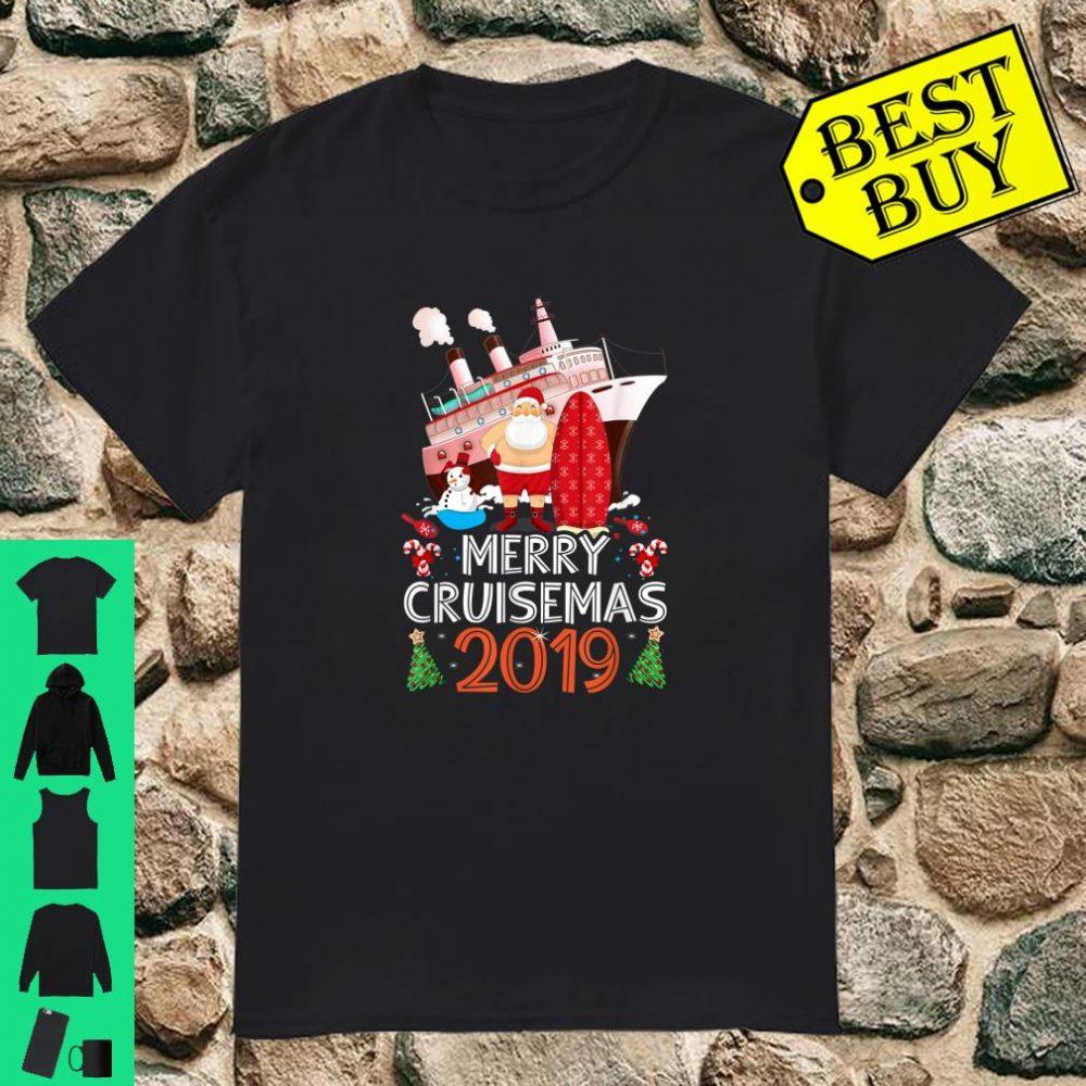 Merry Cruisemas Family Cruise Christmas 2019 Holiday shirt