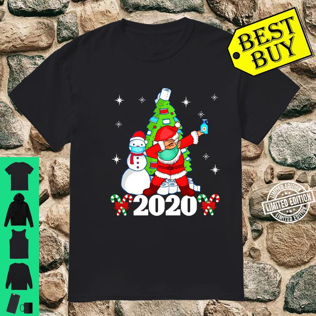 Merry Quarantine Christmas 2020 Pajamas family Xmas Dabbing Shirt