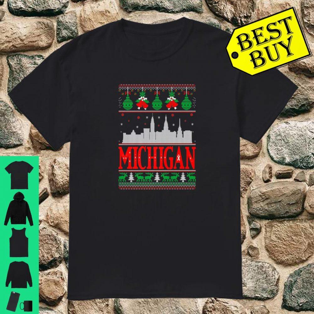 Michigan USA State Christmas Ugly Sweater shirt