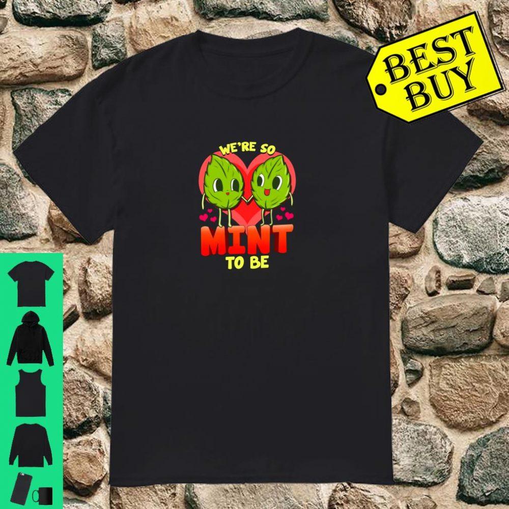 Mint Love Valentine's Day Green Leaf Vegetarian Shirt