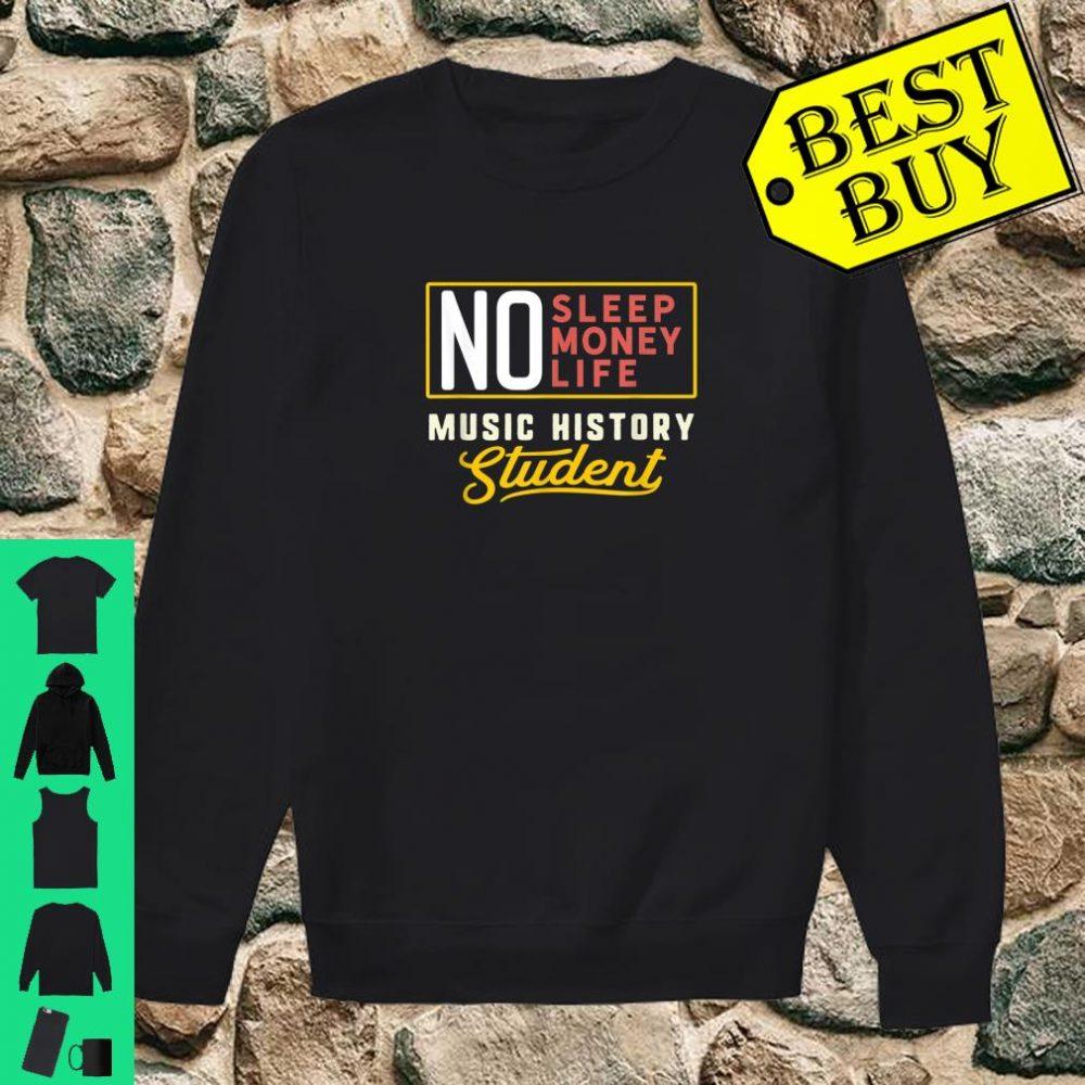 Music History Major Student Graduation Shirt sweater