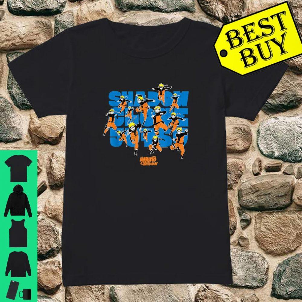 Naruto Shippuden Shadow Clone Jutsu shirt ladies tee