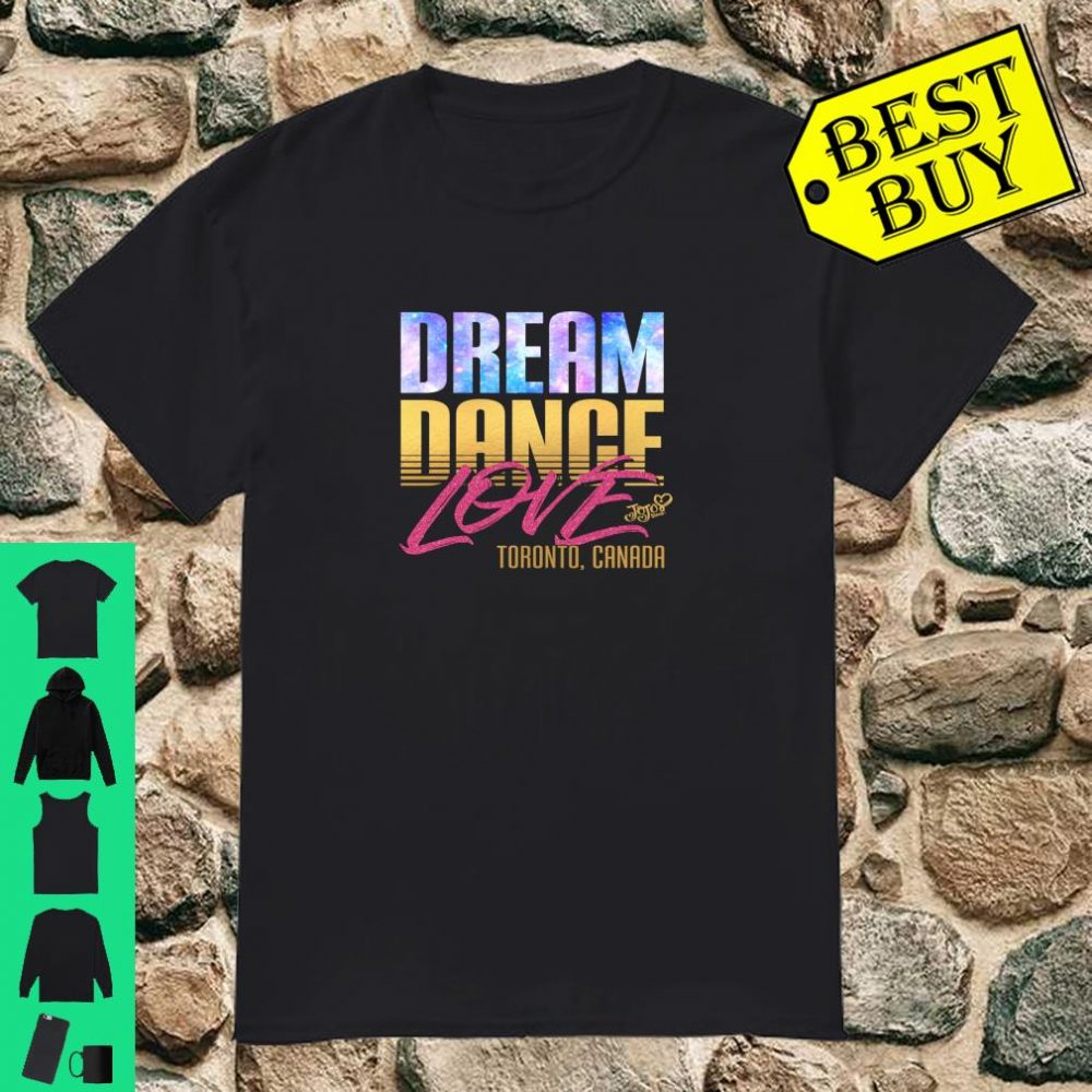 Nickelodeon JoJo Siwa Dream Dance Love Toronto Canada JS1010 shirt