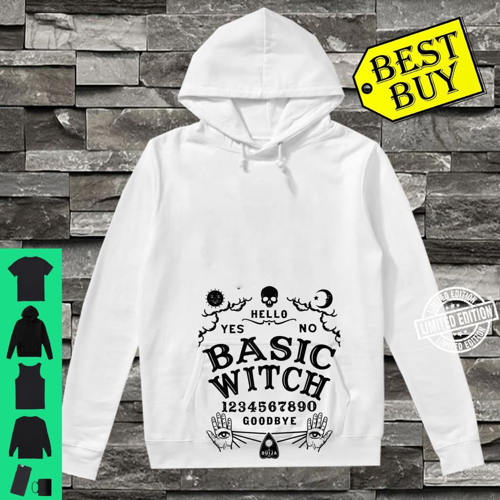Occult Gothic Witchcraft Wiccan Ouija Board Basic Witch Shirt hoodie