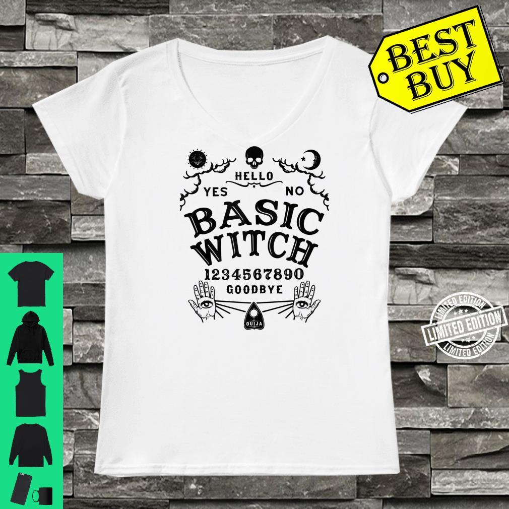 Occult Gothic Witchcraft Wiccan Ouija Board Basic Witch Shirt ladies tee