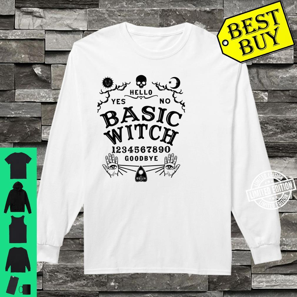 Occult Gothic Witchcraft Wiccan Ouija Board Basic Witch Shirt long sleeved