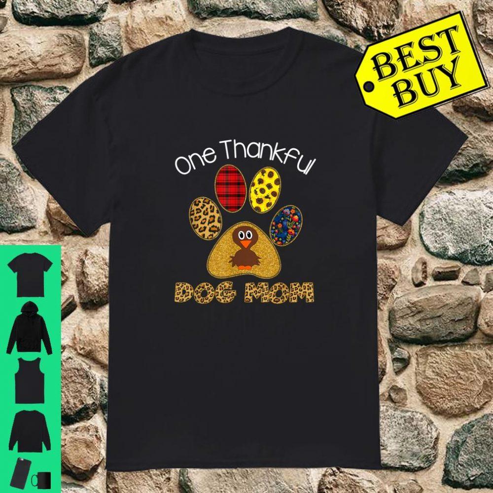 One Thankful Lolli Turkey Leopart Thankgivings shirt