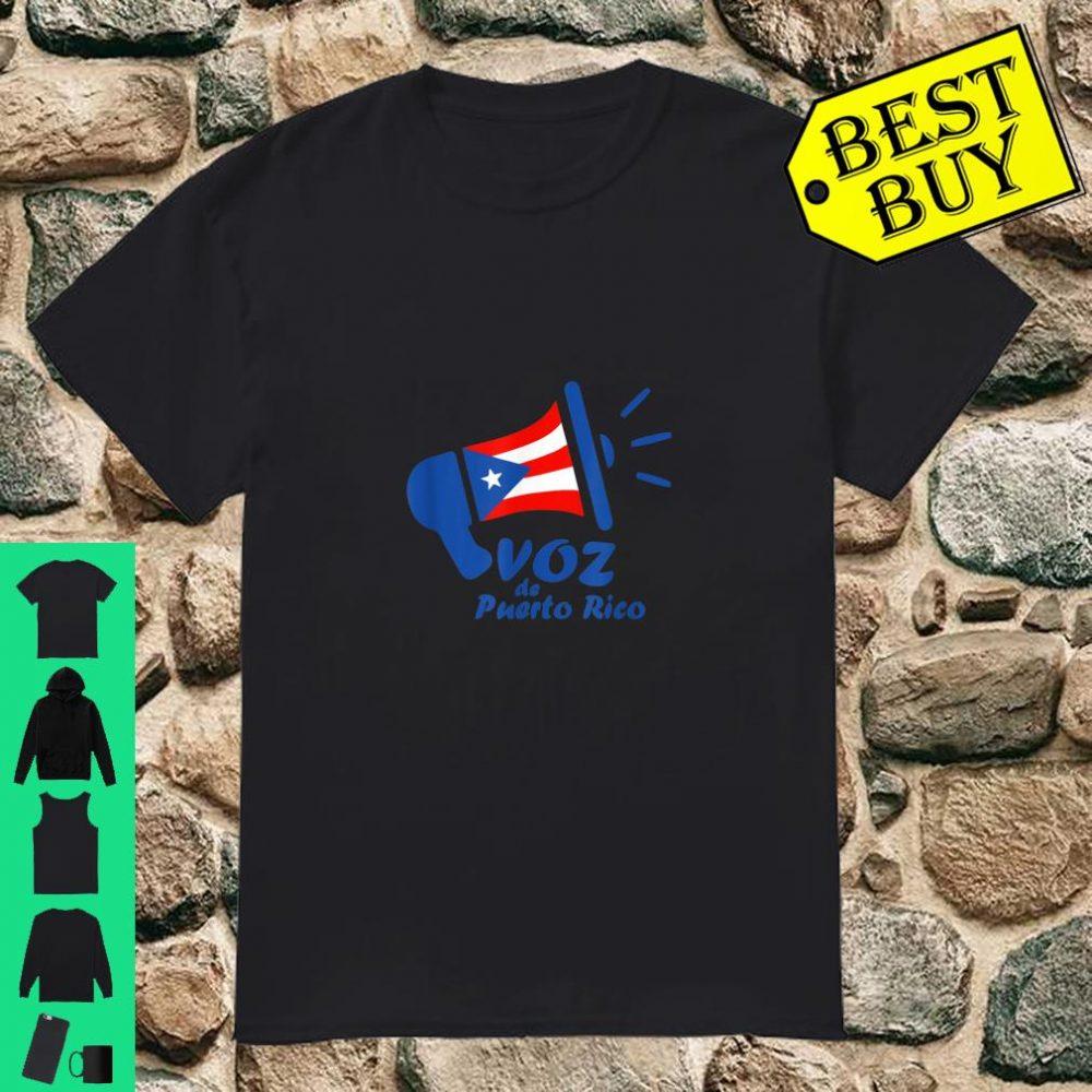 Original Voz de Puerto Rico Logo shirt