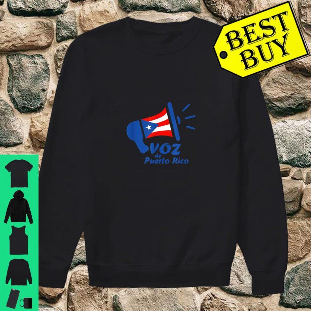 Original Voz de Puerto Rico Logo shirt sweater