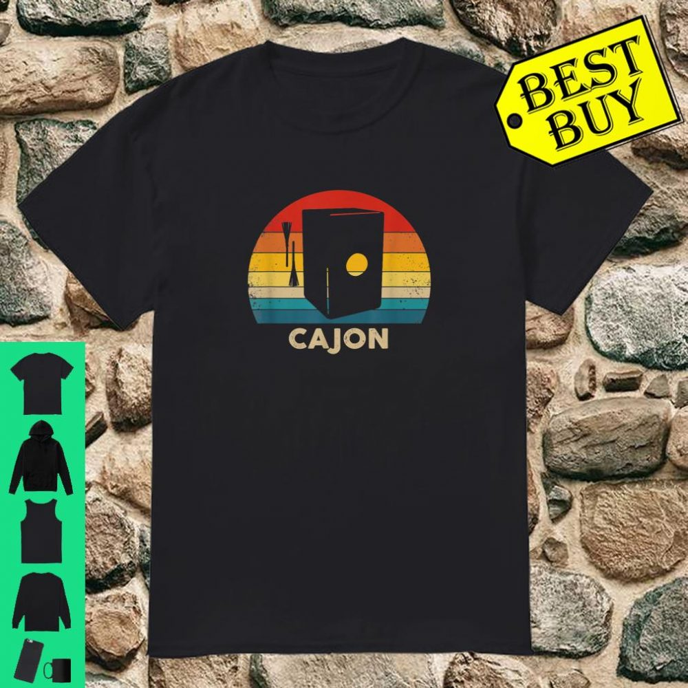 Peruvian Cajon Retro shirt