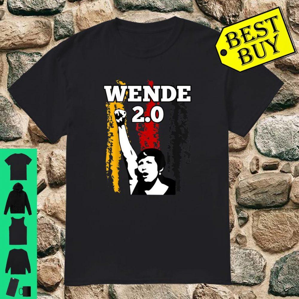 Pro AFD Wende 2.0 Patriot Design Politik Wahlen Demo shirt