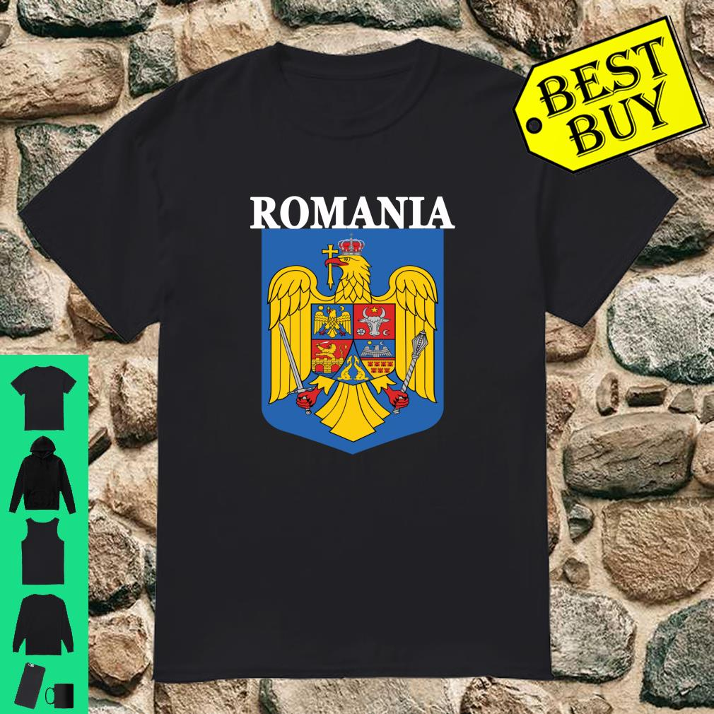 Romania National Coat of Arms Emblem shirt